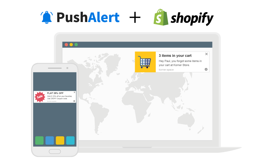 Boost Sales with PushAlert for Shopify