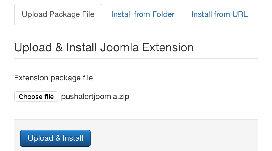 Download and install Joomla plugin