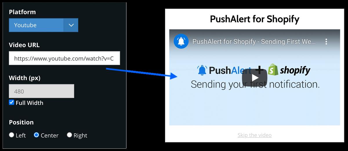 Email Capture Block - PushAlert Onsite Messaging