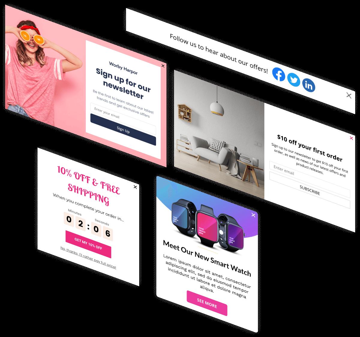 PushAlert Onsite Messaging - Create Smart Web Popups