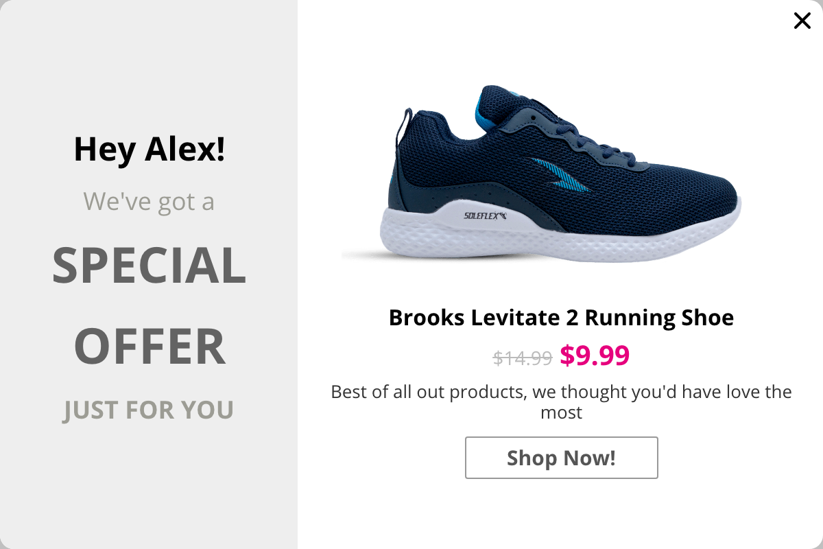 Personalized Popups