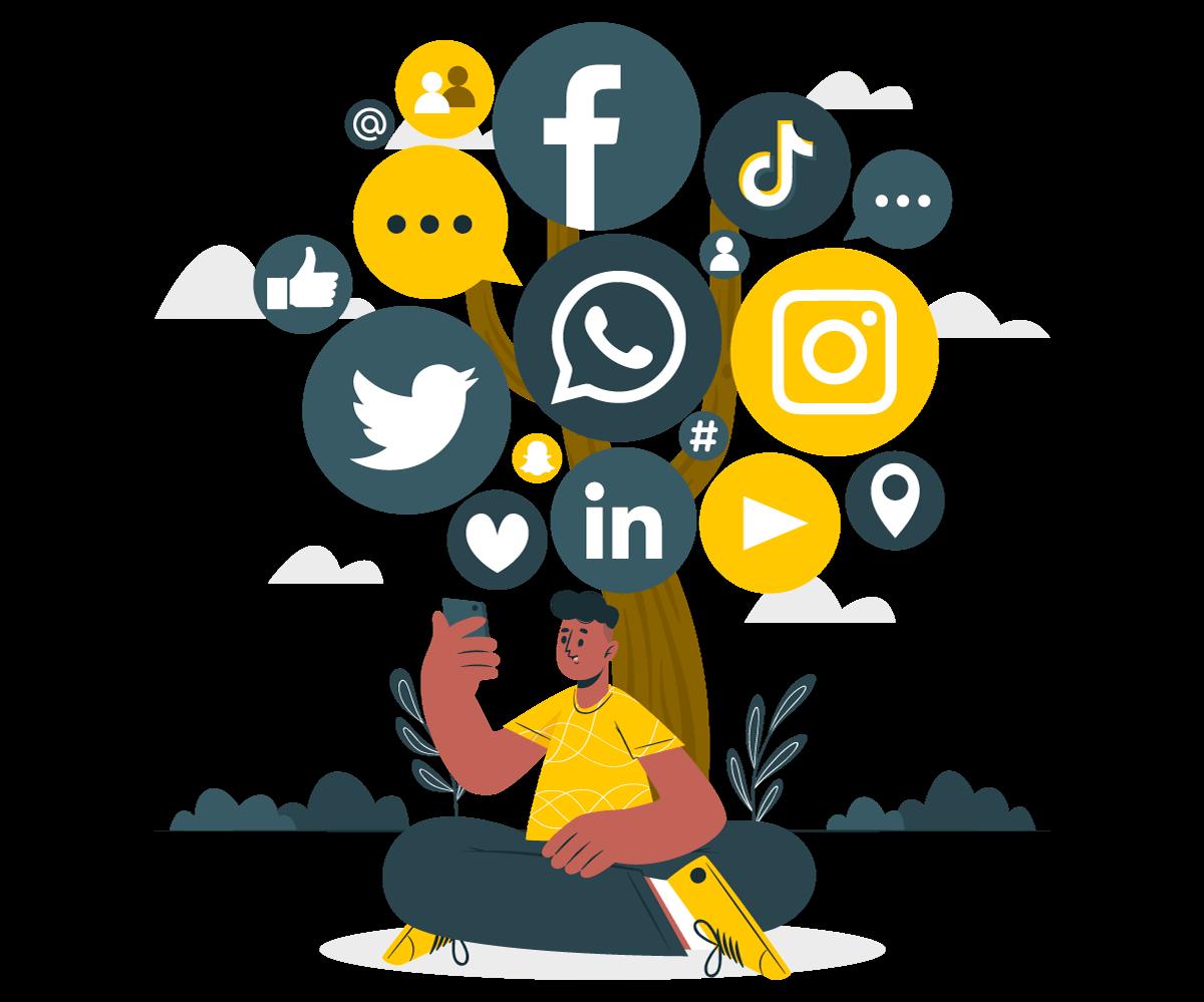 Social Follow/Share Popups