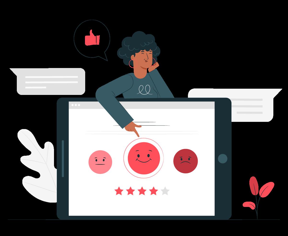Survey Feedback Dialogs
